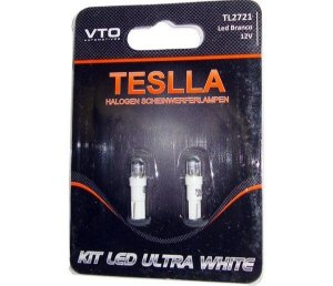 Kit Lâmpada Led Kit Led 2721 12V Branco (Par)