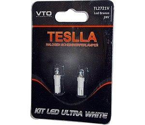 Kit Lâmpada Led Kit Led 2721 24V Branco (Par)