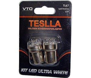 Kit Lâmpada Led Kit Led 67 12V Branco (Par)