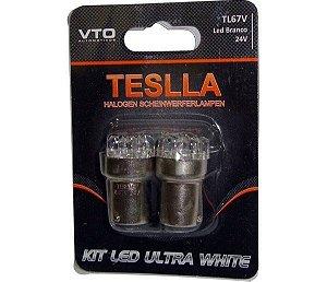 Kit Lâmpada Led Kit Led 67 24V Branco (Par)