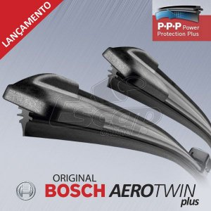 Kit Palheta Dianteira Bosch Original Aerotwin Plus New Honda Civic C4 307