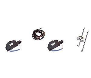 Kit Trava Elétrica 2 Portas Fiestakapaliokadettlogusf- 1000 Curso 14Mm