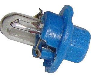 Lâmpada 12V 1.2W Base Azul