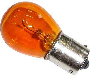 Lâmpada 1 Polo Encontrado  24V  1141  Py21W  21W  Bau15S  Ambar