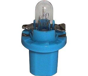 Lâmpada Com Soquete Fixo ( Azul ) 12V 1,2W