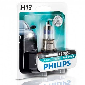 Lâmpada H13 12v 60/55w Xtreme Vision 100% Mais Luz 3500k