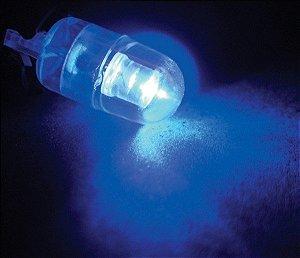 Lâmpada Led  Par  Base De Vidro Grande 12V Azul (Par)