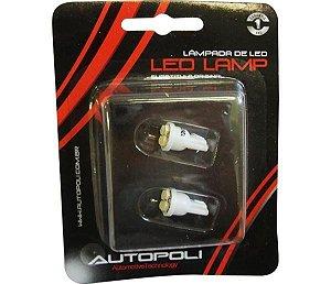 Lâmpada Led  Par  Esmagada High Power 12V Branca 4Leds (Par)