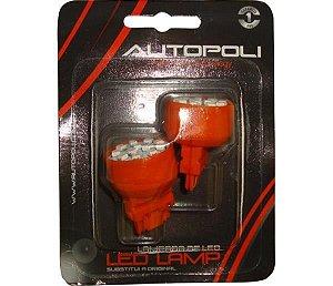 Lâmpada Led  Par  T20 12V 21W 1 Polo Ambar Par