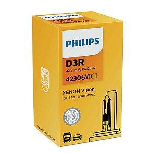 Lâmpada Xenon Vision Philips D3R 42V 35W Pk32D6 42306Vi