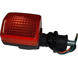 Lanterna Moto Dianteira Honda Cbx 200 Lado Esquerdo