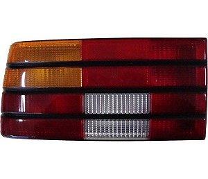 Lanterna Traseira Monza 88->90 Tricolor Cfriso Preto Lado Esquerdo