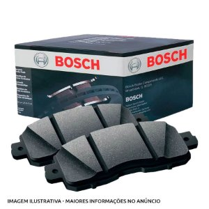 Pastilha Freio Bosch Cerâmica Dianteira Pajero 3.8 Hilux SW4 Bn0976 05/11