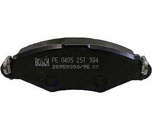 Pastilha Freio Dianteira Bosch 206 207 Hoggar Bb435