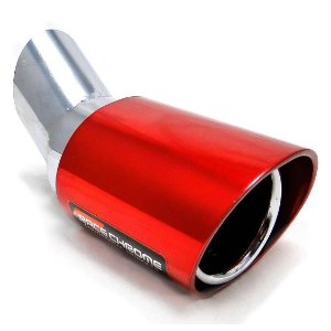 Ponteira Esportiva Escapamento Alumínio Racechrome Palio 206 207 Fox Gol Prisma Onix