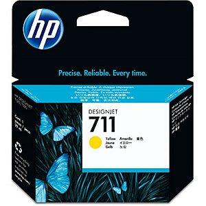 Cartucho de tinta HP 711 Amarelo PLUK 29ml