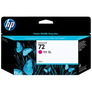 Cartucho de tinta HP 72 Magenta PLUK 130ml
