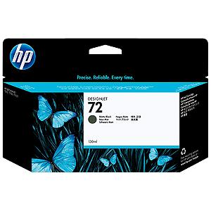 Cartucho de tinta HP 72 Preto Fosco PLUK 130ml