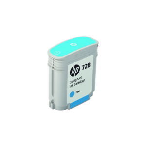Cartucho de Tinta HP 728 Ciano PLUK 40 ml