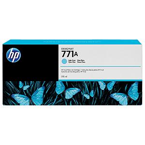 Cartucho de tinta HP 771A ciano claro PLUK 775 ml