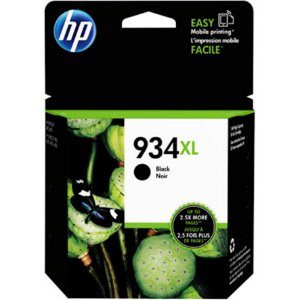 Cartucho de tinta HP 934XL Preto