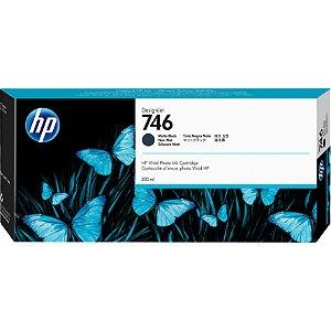 Cartucho de tinta preto fosco HP 746 PLUK 300ml