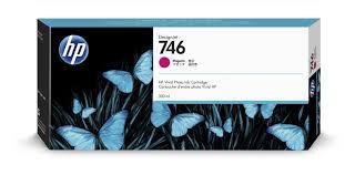 Cartucho de tinta HP 746 Magenta PLUK 300ml