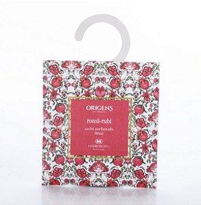 Sachê perfumado Romã-rubi 80ml
