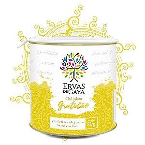 Chá Misto Ervas de Gaya - GRATIDÃO (50g)