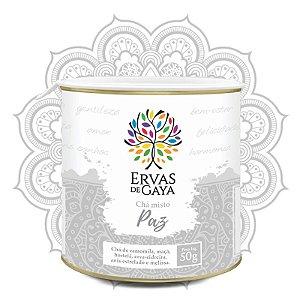 Chá Misto Ervas de Gaya - PAZ (50g)
