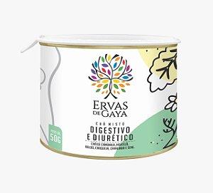 Chá Misto Ervas de Gaya - DIGESTIVO E DIURÉTICO (50g)