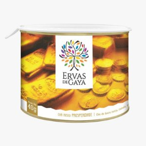 Chá Misto Ervas da Gaya - PROSPERIDADE (50g)