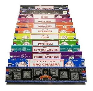 Incenso Nag Champa Satya Aromas - Mix 12cx