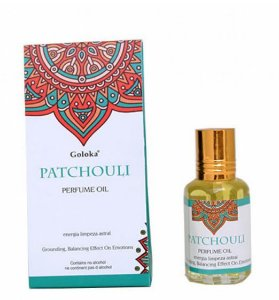 Perfume Oil Goloka PATCHOULI 10ml - Limpeza Astral