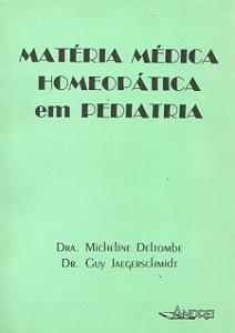 MATÉRIA MÉDICA HOMEOPÁTICA EM PEDIATRIA