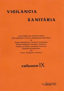 VIGILÂNCIA SANITÁRIA VOLUME IX (86-90)
