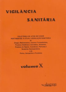 VIGILÂNCIA SANITÁRIA VOLUME X (91 - 93)