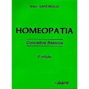 HOMEOPATIA - CONCEITOS BÁSICOS