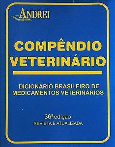 COMPÊNDIO VETERINÁRIO - 36ª EDIÇÃO - CD ROM