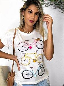T-Shirt Aplicação Bikes