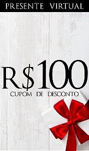 Presente Virtual R$100