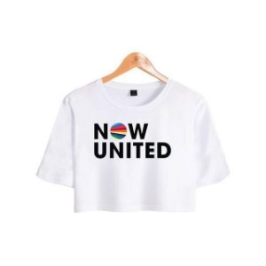 T-Shirt cropped Now United