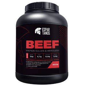 Beef Protein Isolate Hidrolized 1800g - Espartanos