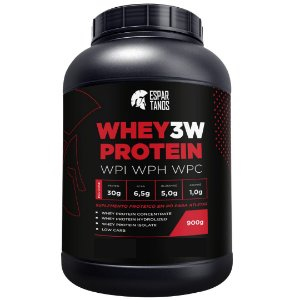 Whey Protein 3W 900G - Espartanos
