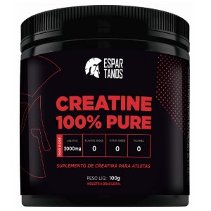 Creatina 100% Pure 100g  - Espartanos