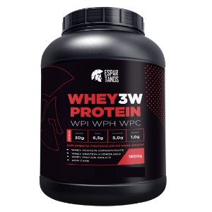 Whey Protein 3W 1800g - Espartanos