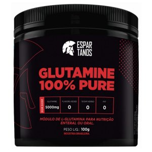 Glutamina 100% Pure 100g - Espartanos