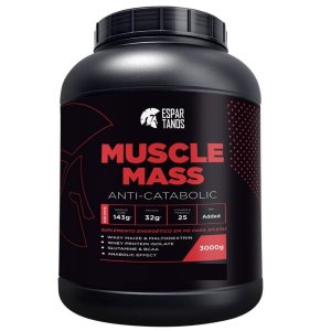 Muscle Mass Hipercalórico 3000g - Espartanos