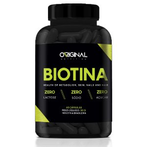 Biotina 60 Cáps - Original Nutrition