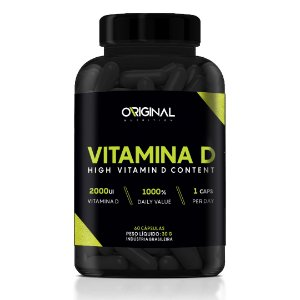 Vitamina D 60 Cáps - Original Nutrition